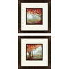 2-Piece 12-in W x 12-in H Landscapes Framed Art