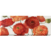 37-in W x 14-in H Floral Canvas