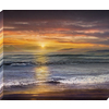 37-in W x 30-in H Frameless Wood Landscapes Print Wall Art
