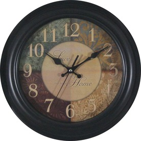 "allen + roth 12"" Loving Home Clock"