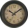 allen + roth 12-in Boston Brown Clock