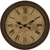 allen + roth 18-in Old World Clock0 Oil Rubbed Bronze Clock