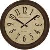 allen + roth Analog Round Indoor Wall Clock