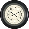 "allen + roth 24"" Kingston Clock"
