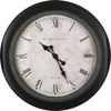 allen + roth 30-in Brunswick Clock Black Clock
