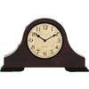 allen + roth 9-in Mantle Clock Oil Rubbed Bronze Clock