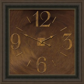 "allen + roth 24"" Oil-Rubbed Bronze Clock"