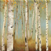 allen + roth 12-in W x 12-in H Trees Canvas Wall Art