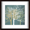 allen + roth 17-in W x 17-in H Trees Framed Wall Art