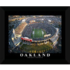 22-in W x 18-in H Oakland Football Framed Wall Art
