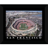 22-in W x 18-in H San Fransisco Football Framed Wall Art