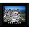 22-in W x 18-in H Soldier Field Framed Wall Art