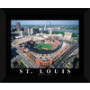 22-in W x 18-in H New Busch Stadium Framed Wall Art