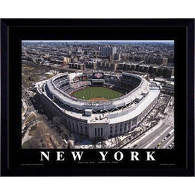 "26""W x 32""H New York Framed Wall Art"