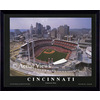 26-in W x 32-in H Cincinnati Reds Framed Wall Art