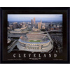 32-in W x 26-in H Cleveland Football Framed Art