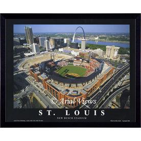 """26""""W x 32""""H St. Louis Cardinals Framed Wall Art"""