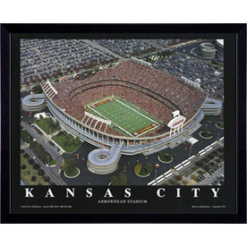 Shop 32 in w x 26 in h kansas city arrowhead stadium for Kitchen cabinets lowes with kansas city wall art