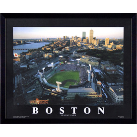 "26""W x 32""H Boston Framed Wall Art"
