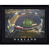 26-in W x 32-in H Oakland Raiders Framed Wall Art