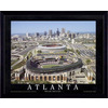 32-in W x 26-in H Atlanta Braves Framed Wall Art