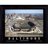 32-in W x 26-in H Baltimore Orioles Framed Wall Art