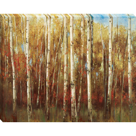 30-in W x 38-in H Landscape Canvas