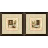 12-in W x 12-in H Bathroom Framed Wall Art