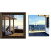  12-in W x 12-in H Ocean Framed Wall Art