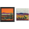  12-in W x 12-in H Desert Framed Wall Art