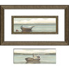 16.5-in W x 28.5-in H Beach Framed Wall Art