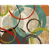 30-in W x 38-in H Abstract Canvas Wall Art