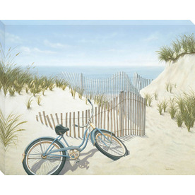  30-in W x 38-in H Beach Canvas Wall Art