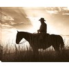  30-in W x 38-in H Horses Canvas Wall Art