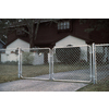 Galvanized Steel Chain-Link Fence Gate (Common: 10-ft x 4-ft; Actual: 9.5-ft x 4-ft)