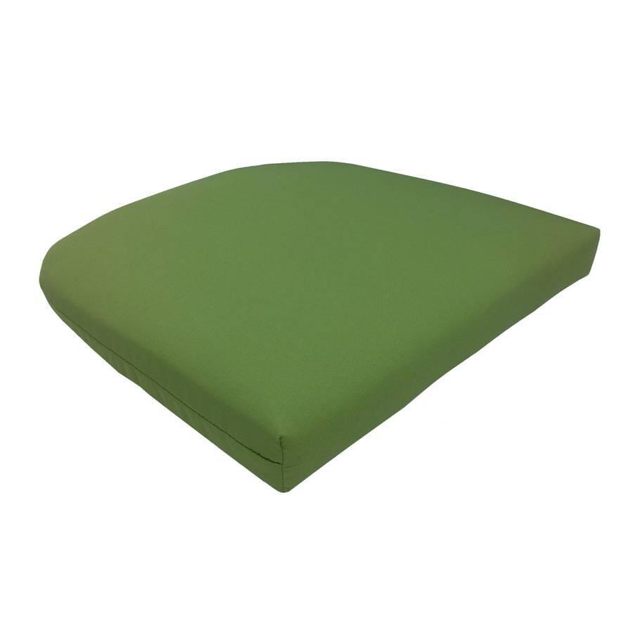 shop garden treasures green patio chair cushion at
