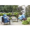 allen + roth Set of 2 Sunbrella Dolce Oasis UV-Protected Square Outdoor Decorative Pillows
