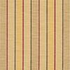 allen + roth Sunbrella 2-Pack Cassidy Goldenrod Stripe Square Outdoor Decorative Pillow