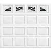 Wayne-Dalton 9100 Series 9-ft x 7-ft Insulated Single Garage Door with Windows
