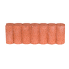  Fulton 5-in H x 16-in L Red Tall-Profile Concrete Edging Stone (Actuals 5.5-in H x 16.125-in L)