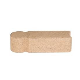 Tan Geometric Edging Stone (Common: 3-in x 12-in; Actual: 3.2-in H x 11.8-in L)