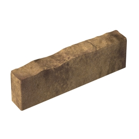 allen + roth 5-in H x 16-in L Tan/Charcoal Tall-Profile Concrete Edging Stone (Actuals 5-in H x 16-in L)