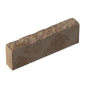 Tan/Dark Brown Calisto Edging Stone (Common: 5-in x 16-in; Actual: 5-in H x 16-in L)