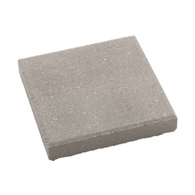 Fulton 12-in x 12-in Gray Square Patio Stone (Actuals 11.75-in W x 11.75-in L)
