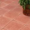 Red Concrete Square Patio Stone (Common: 12-in x 12-in; Actual: 12-in x 12-in)