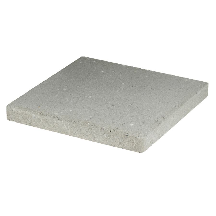 Shop Gray Square Patio Stone (Common: 16-in x 16-in ...