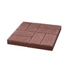 Red Brickface Concrete Patio Stone (Common: 16-in x 16-in; Actual: 15.7-in x 15.7-in)