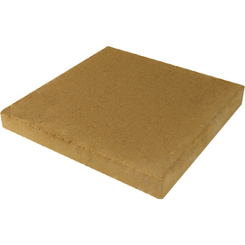 Tan Square Concrete Patio Stone (Common: 12-in x 12-in; Actual: 11.7-in x 11.7-in)