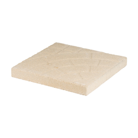 Sand Square Patio Stone (Common: 16-in x 16-in; Actual: 15.7-in x 15.7-in)