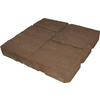 allen + roth Cassay 16-in x 16-in Tranquil Four-Cobble Patio Stone (Actuals 15.75-in W x 15.75-in L)